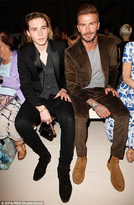 Vợ chồng Beckham xúc động kể về tuổi thơ của Brooklyn - Ảnh 8.