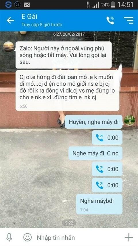 Vụ thiếu nữ Hà Tĩnh mất tích bí ẩn: Mẹ nhận được cuộc gọi của con gái thông báo đang làm cho quán ăn - Ảnh 2.