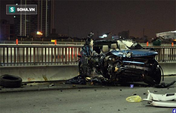 Cô gái tử vong trong vụ xe sang Range Rover gặp nạn trên cầu Sài Gòn là Trung úy Công an - Ảnh 1.