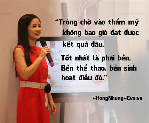 "hong nhung 48 tuoi: ""toi khong lam dep de giu chong ma cho ban than minh"" - 2"