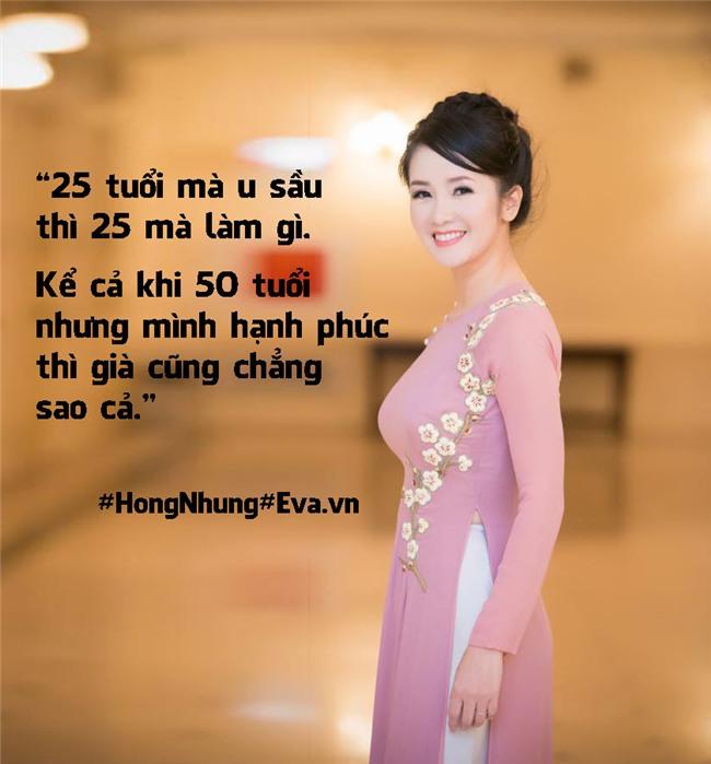 "hong nhung 48 tuoi: ""toi khong lam dep de giu chong ma cho ban than minh"" - 3"