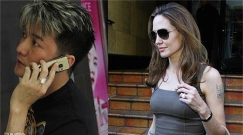 Mr Đàm cũng sở hữu chiếc nhẫn 10 tỷ đồng giống y hệt ngôi sao Hollywood Angelina Jolie.