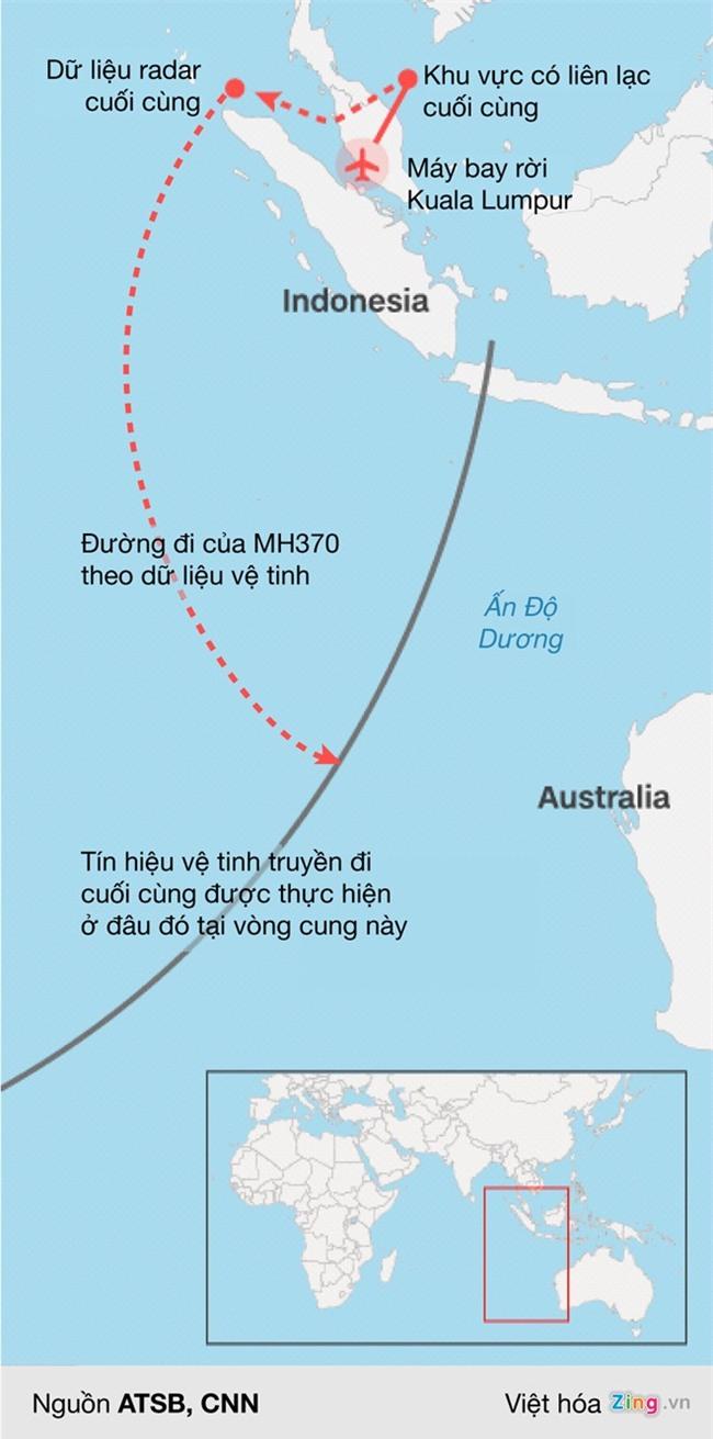 MH370: Cuoc tim kiem vo vong chuyen bay bi an nhat the gioi hinh anh 2