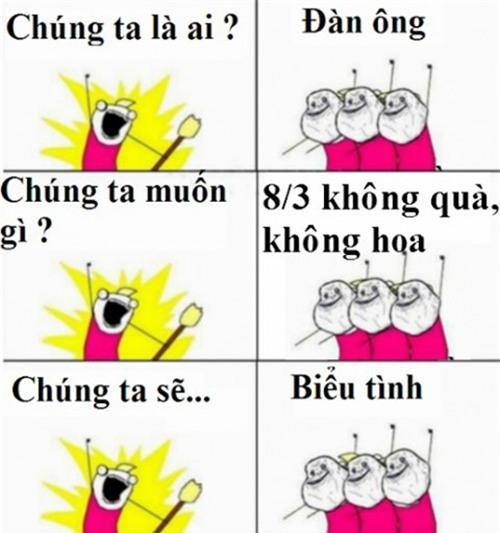 """anh che 8/3 sieu hai, chi em xem xong, ai cung phai can nhac chuyen """"doi qua"""" - 9"""