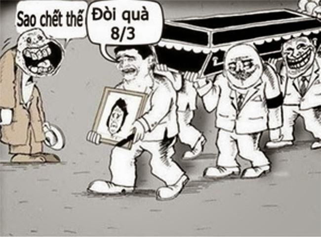 """anh che 8/3 sieu hai, chi em xem xong, ai cung phai can nhac chuyen """"doi qua"""" - 12"""