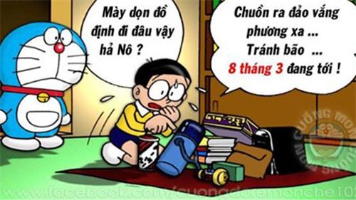"""anh che 8/3 sieu hai, chi em xem xong, ai cung phai can nhac chuyen """"doi qua"""" - 6"""