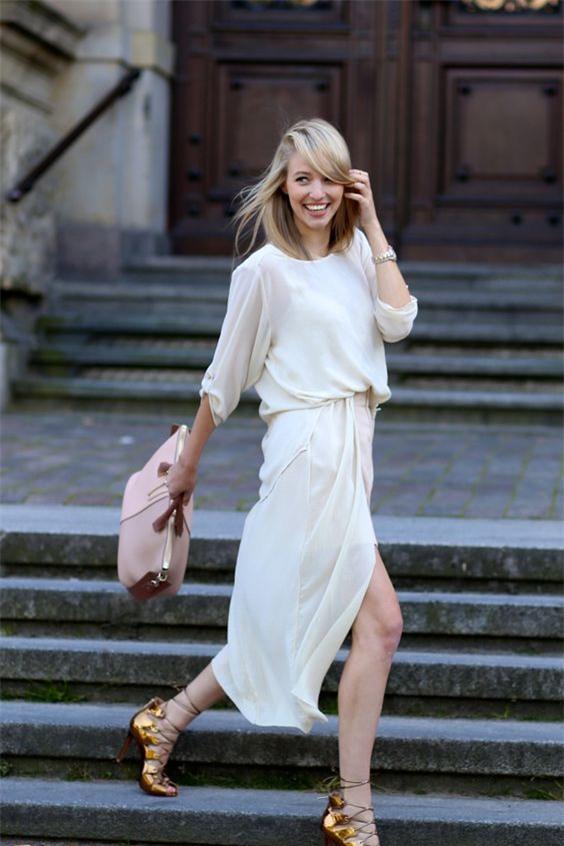 Gợi ý mix đồ đẹp đủ mọi đường với 5 thiết kế chân váy midi quen thuộc - Ảnh 16.