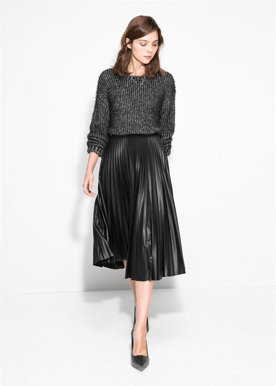 Gợi ý mix đồ đẹp đủ mọi đường với 5 thiết kế chân váy midi quen thuộc - Ảnh 4.
