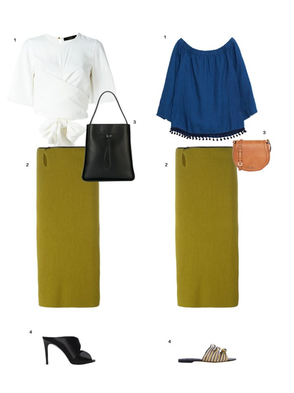 Gợi ý mix đồ đẹp đủ mọi đường với 5 thiết kế chân váy midi quen thuộc - Ảnh 7.