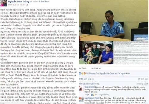 Mẹ bé trai bị tôn cứa cổ lên tiếng về chia sẻ gây xôn xao trên mạng - 1