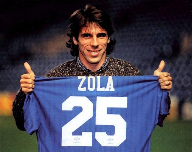 Gianfranco Zola, anh không cao nhưng cả thế giới phải ngước nhìn - Ảnh 1.