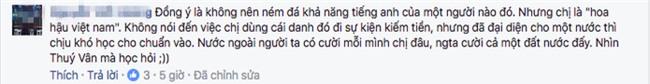 Giữa tranh luận về clip nói tiếng Anh, Hoa hậu Thu Thảo chính thức lên tiếng - Ảnh 3.