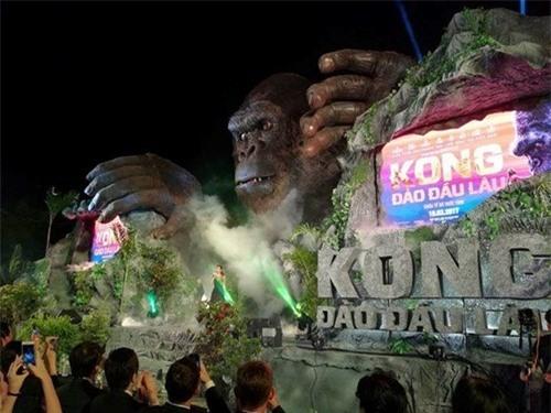 Nguyên nhân 'bà hỏa' thiêu rụi sân khấu 1 tỷ ngày ra mắt 'Kong: Skull Island'  ảnh 2