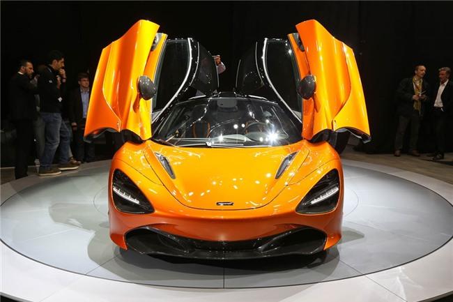 Sieu xe McLaren 720S chinh thuc ra mat hinh anh 1