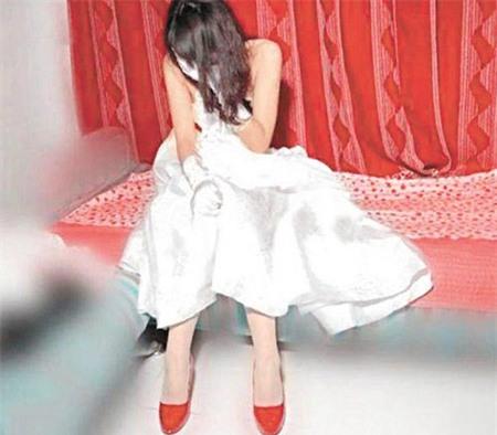 Image result for cô dâu khóc