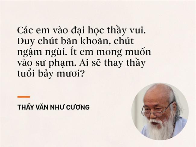 Những câu nói chạm đến trái tim mọi thế hệ học trò của thầy Văn Như Cương - Ảnh 2.