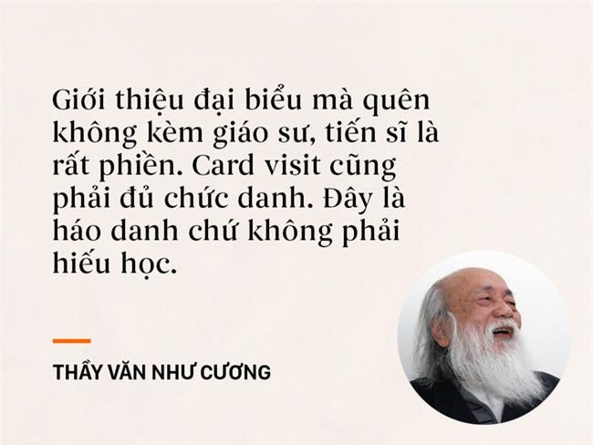 Những câu nói chạm đến trái tim mọi thế hệ học trò của thầy Văn Như Cương - Ảnh 6.