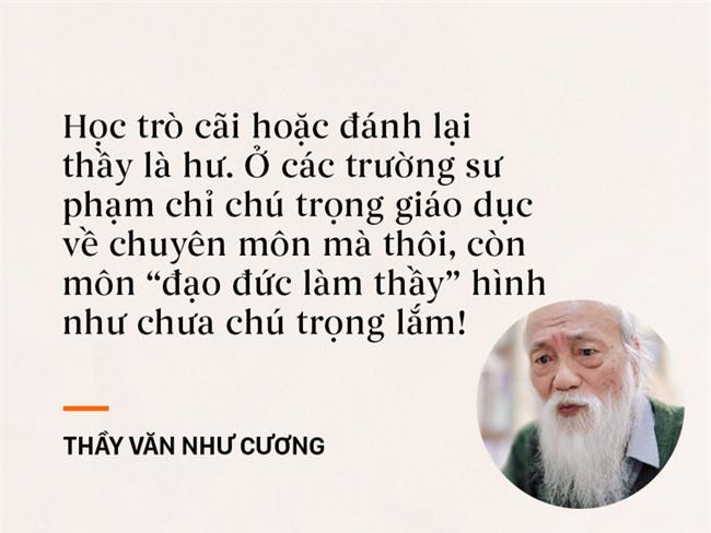Những câu nói chạm đến trái tim mọi thế hệ học trò của thầy Văn Như Cương - Ảnh 7.