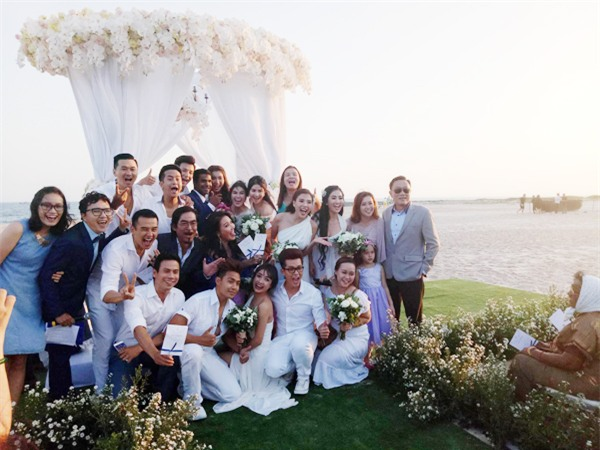 """Diễn viên """"Cổng mặt trời"""" Nguyệt Ánh và chồng Ấn Độ làm đám cưới lãng mạn trên biển - Ảnh 6."""