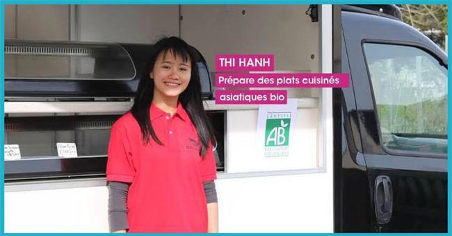 Ý tưởng bán nem, cơm chiên trên xe tải giúp cô gái Việt thắng cuộc thi khởi nghiệp tại Pháp - Ảnh 1.