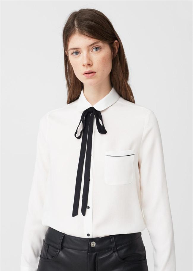 Sơmi trắng: chiếc áo vốn khô khan, nghiêm túc đang tự F5 mình bằng những cách điệu thú vị - Ảnh 11.