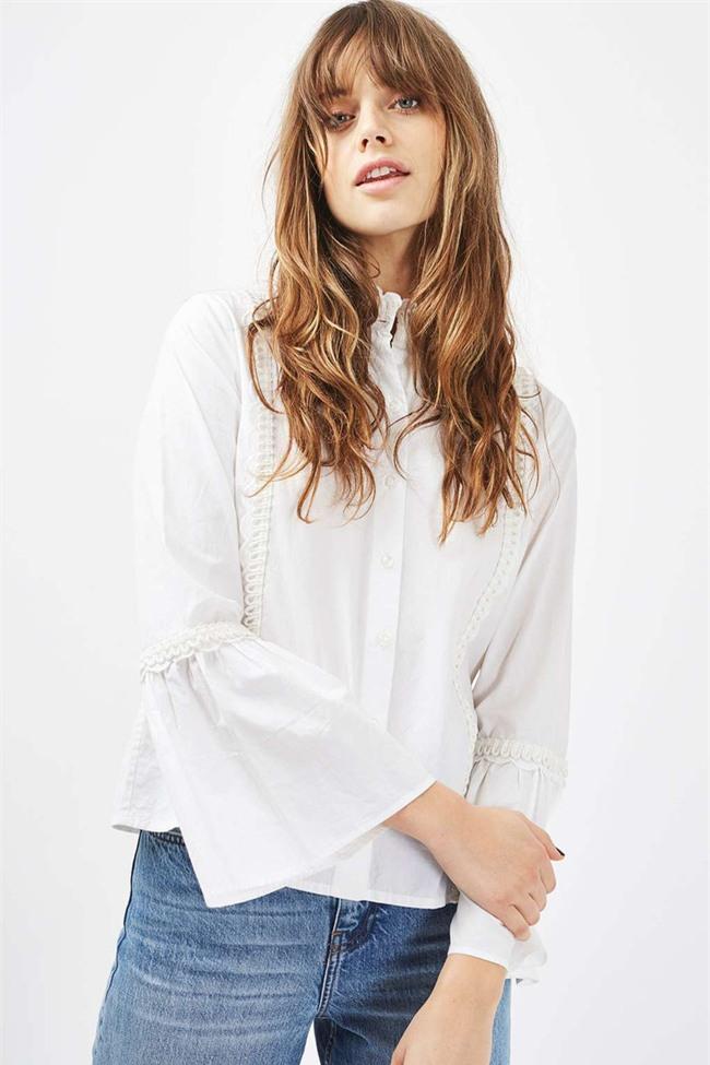 Sơmi trắng: chiếc áo vốn khô khan, nghiêm túc đang tự F5 mình bằng những cách điệu thú vị - Ảnh 23.
