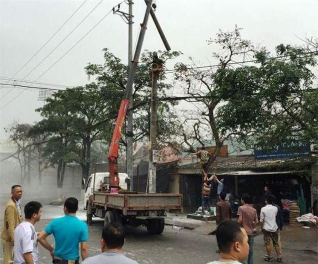 tai nạn lao động, điện cao thế, phóng điện
