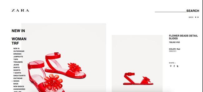 Sau dép lau nhà, Zara lại ra đôi dép nhựa hoa đỏ order về thể nào cũng khóc thét - Ảnh 2.