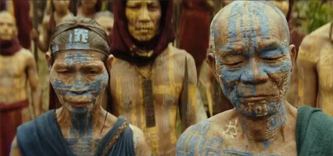Gặp gỡ thủ lĩnh làng thổ dân trong Kong: Skull Island: Đóng phim là hết mình luôn! - Ảnh 2.