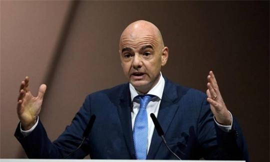 Chủ tịch FIFA - ông Gianni Infantino