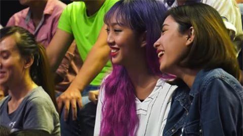 Cô gái tóc tím được tìm kiếm sau chương trình Giọng ải giọng ai - Ảnh 3.