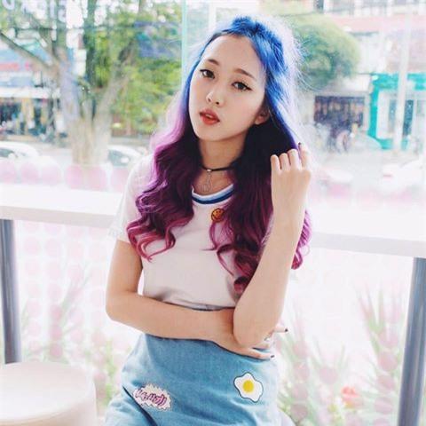 Cô gái tóc tím được tìm kiếm sau chương trình Giọng ải giọng ai - Ảnh 5.