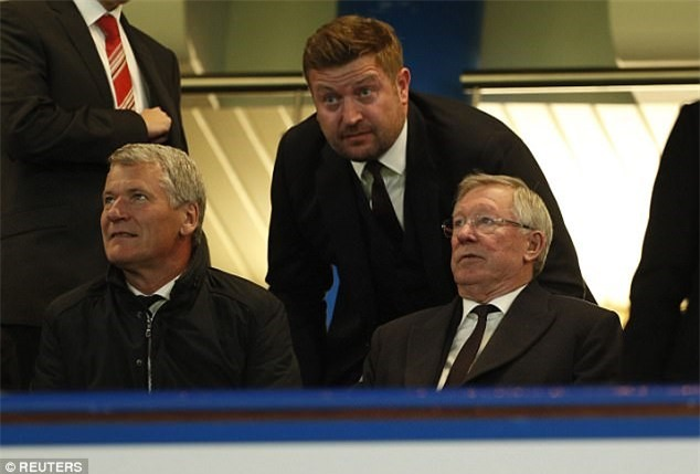 Beckham dan dau dan VIP den xem tran Chelsea gap MU hinh anh 5