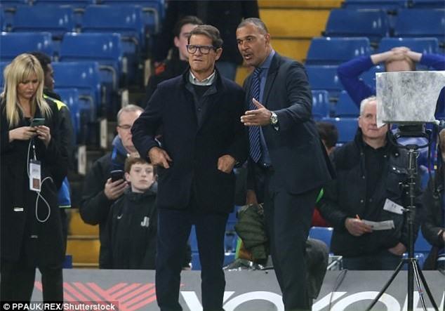 Beckham dan dau dan VIP den xem tran Chelsea gap MU hinh anh 6