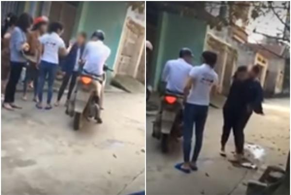 Clip bà bầu đánh ghen ở Thanh Hóa: Người chồng có vợ bị đánh thấy bình thường vì đã biết trước - Ảnh 1.