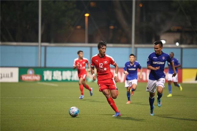 Mac Hong Quan nhan the do, Quang Ninh thua nguoc o Singapore hinh anh 1