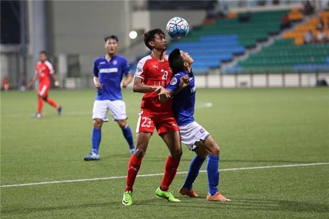 Mac Hong Quan nhan the do, Quang Ninh thua nguoc o Singapore hinh anh 6