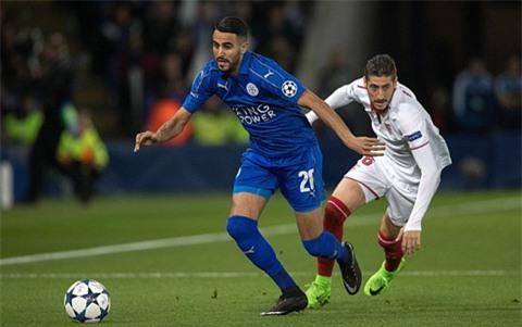 Leicester ngược dòng trước Sevilla để lần đầu tiên trong lịch sử vào tứ kết Champions League