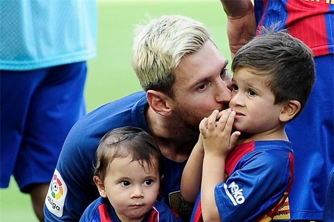 Messi tiet lo bi mat thu vi ve con trai Thiago hinh anh 1