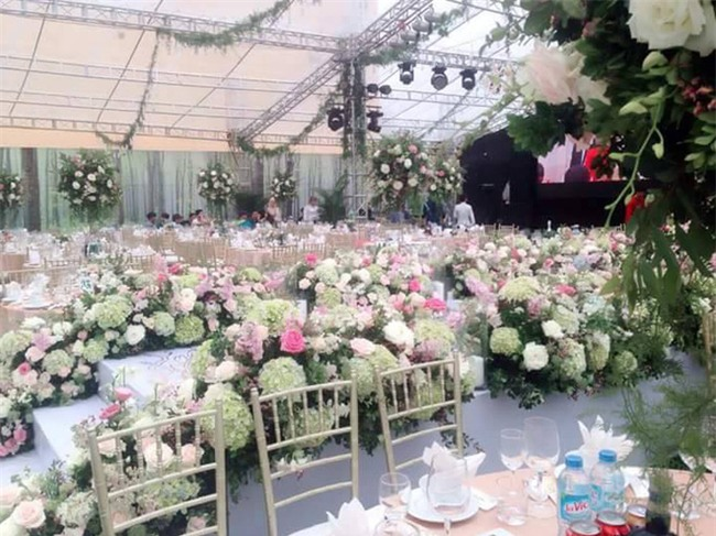 Cận cảnh đám cưới xa hoa bậc nhất Hải Phòng khiến dân mạng trầm trồ - Ảnh 6.