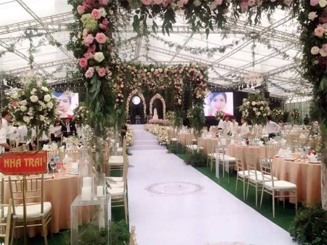 Cận cảnh đám cưới xa hoa bậc nhất Hải Phòng khiến dân mạng trầm trồ - Ảnh 7.