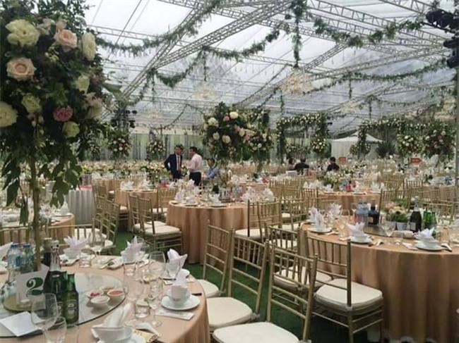 Cận cảnh đám cưới xa hoa bậc nhất Hải Phòng khiến dân mạng trầm trồ - Ảnh 8.