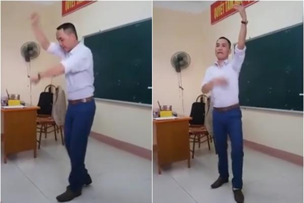 Clip thầy giáo Sư Phạm múa trên bục giảng hút triệu lượt xem - Ảnh 4.