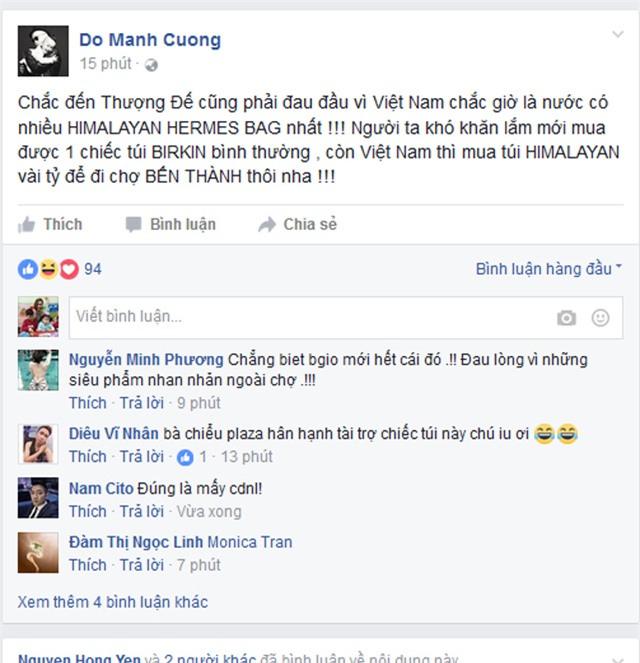 su that ve chiec tui khien ngoc trinh, do manh cuong khau chien rat mat - 2
