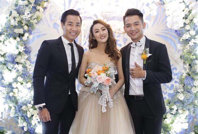 Dàn sao Việt nô nức đến dự đám cưới Mai Quốc Việt - Ảnh 4.
