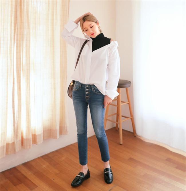 Điểm qua một vài cách diện đồ hay ho với cặp đôi kinh điển: quần jeans và sơmi - Ảnh 5.