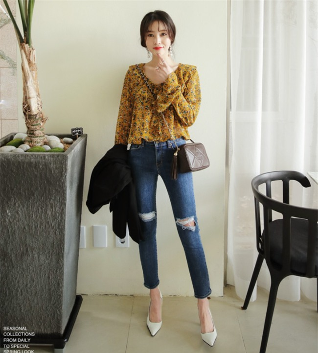 Điểm qua một vài cách diện đồ hay ho với cặp đôi kinh điển: quần jeans và sơmi - Ảnh 19.