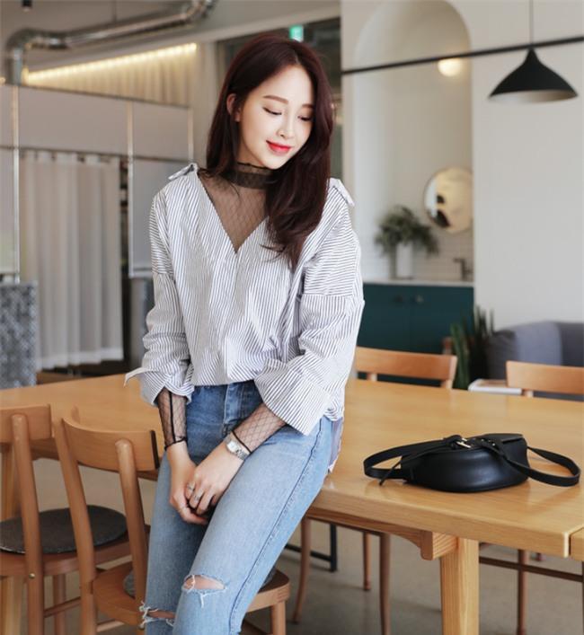 Điểm qua một vài cách diện đồ hay ho với cặp đôi kinh điển: quần jeans và sơmi - Ảnh 23.