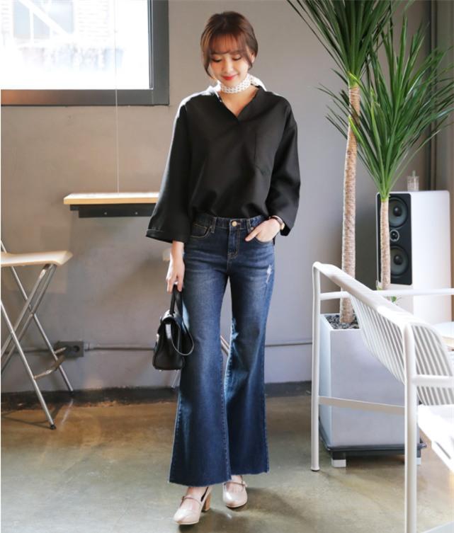 Điểm qua một vài cách diện đồ hay ho với cặp đôi kinh điển: quần jeans và sơmi - Ảnh 8.