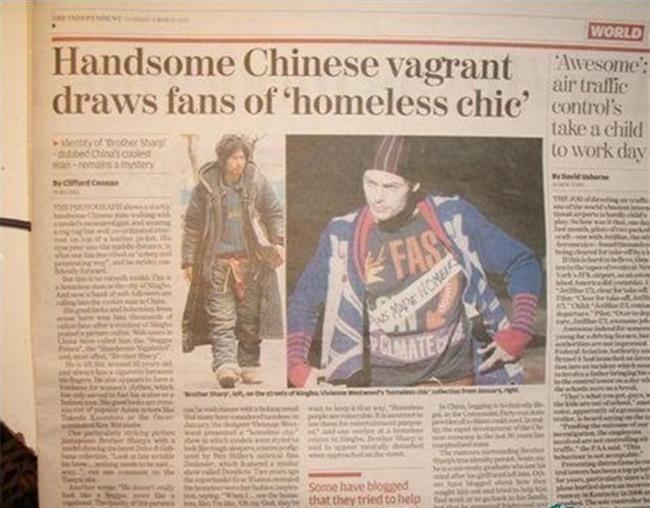 Nhan sắc tụt dốc không phanh của chàng ăn mày đẹp trai nhất Trung Quốc từng khuấy đảo mạng xã hội năm xưa - Ảnh 6.